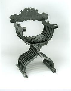 15th century Savonarola chair.