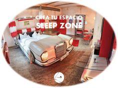 ¿Sois amantes del motor? ¡Habéis dado con vuestra escapada! Este coche peculiar hotel temático situado en Stuttgart, al sur de Alemania, es perfecto para los fans de los coches clásicos, especialmente los Cadillacs, Mercedes-Benz y Porsche. Agarraos bien, ¡que vienen curvas! ¿y tú, nos enseñas tu Sleep Zone?
