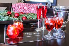 SKINNY PROSECCO RASPBERRY COCKTAIL (only 50 calories a glass!)1 cup Light or Zero Calorie...