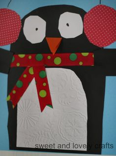 sweet and lovely crafts: cute penguin craft