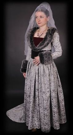 Clothes worn in the Burgundian court in the second half of 15th century