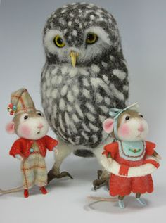 Needle Felting / Needle Felted Creations By Barby Anderson: July 2011