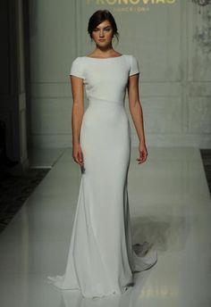 Wedding Dress by Pronovias // Alicia Vikander Wedding Ideas // SHEER EVER AFTER WEDDINGS