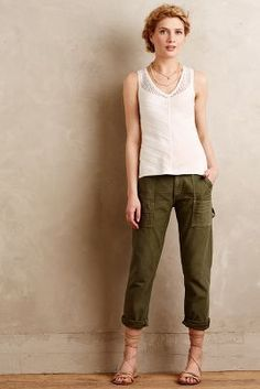 Citizens of Humanity Leah Cargos Fatigue Pants #anthrofave