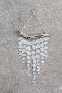 DIY Sea Glass Wall Hanging | francoisetmoi.com