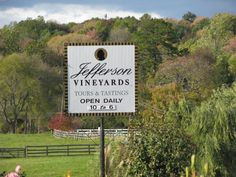 "Another wonderful winery in Virginia and I quote ""Drink up ladies- I'm outta here!""  Heehee"
