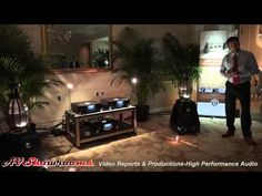 MBL 101E MKII, loudspeakers, Nobel Line electronics, CES 2015 - YouTube