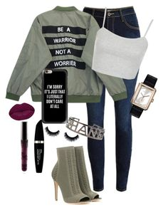 Untitled #153 by jayla-gore on Polyvore featuring polyvore, fashion, style, Chicnova Fashion, Gianvito Rossi, Chanel, Casetify, Max Factor, Winky Lux, Topshop and clothing