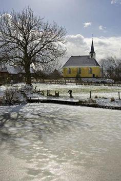 Georgiuskerk | Winter in groningen | Ijs| Stitswerd