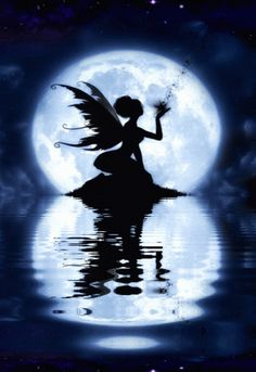 FAIRY, WATER REFLECTION GIF
