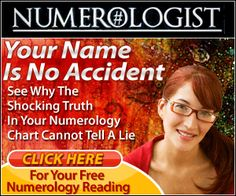 """Did You Know that Your """"Name"""" is No Accident? Discover the Power of 4,000 Year Old Science with Your FREE Personal Numerology Report! To Get Started, Click the """"Visit"""" Button Above"""