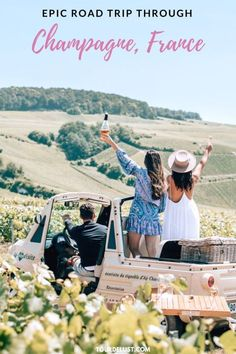 Do you love wine and road trips? Here's the perfect guide to road trip through Champagne, France with all the best stops. Champagne France, Europe Travel Tips, Travel Advice, Travel Info, Travel Articles, Travel List, European Travel, Budget Travel, Travel Guides
