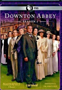DOWNTON ABBEY First Season One 1 3 DVD NEW FACTORY SEALED PBS FREE SHIP&TRACK US