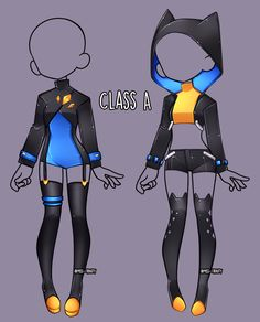 Class A outfit Adopts [CLOSE] by Miss-Trinity on DeviantArt - Fashion design sketches - Manga Clothes, Drawing Anime Clothes, Dress Drawing, Fashion Design Drawings, Fashion Sketches, Anime Outfits, Cute Outfits, Clothing Sketches, Hero Costumes