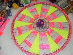 roue de vélo décorée