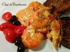 Shrimp Saganaki (Garides Saganaki) - Greek Recipe