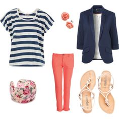 spring, created by jenn-shaw on Polyvore