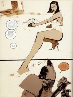"OcéanoMar // art & my artwork // : Ashley Wood ""Ashley Wood (born 1971) is..."