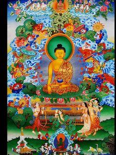 buddha and the mara