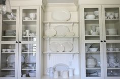White ironstone love from Pretties and Posies