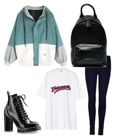 SPORTS by yesiloglubengusu on Polyvore featuring polyvore, Vetements, Givenchy, men's fashion, menswear and clothing