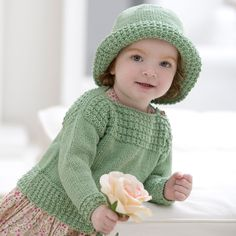 Baby Knitting Patterns Free Knitting Pattern for Boatneck Sweater and Hat – Matchin… Free Baby Sweater Knitting Patterns, Knit Baby Sweaters, Knitted Baby Clothes, Knitting For Kids, Free Knitting, Knitted Hats, Crochet Patterns, Hat Patterns, Free Childrens Knitting Patterns