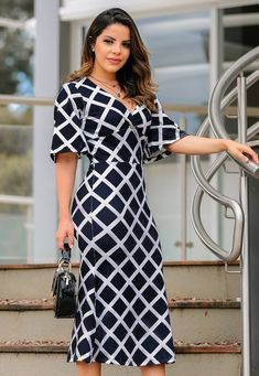 Shop Sexy Trending Dresses – Chic Me offers the best women's fashion Dresses deals One Piece Dress, The Dress, Dress Skirt, Women's Fashion Dresses, Boho Fashion, Autumn Fashion, Nice Dresses, Dresses For Work, Calf Length Dress