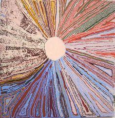 Kuput Kuput Claypan by Yikartu Bumba, 2009 Aboriginal Art, Abstract Canvas, Aesthetic Art, Artsy Fartsy, Art Inspo, Les Oeuvres, Cool Art, Art Projects, Digital Art