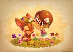 Fauna's Flowers by lilibz on DeviantArt