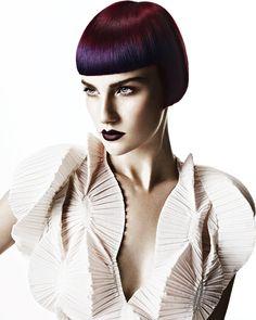 Hair: HOB Salons Creative Team  Art Direction: Akin Konizi  Photography: John Rawson  Makeup: Jo Frost  Stylist: Jared Green