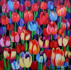 ArtGalery ° PERSONALART.PL tytuł/title: Garden of January author: Beata Murawska personalart.pl/Beata-Murawska