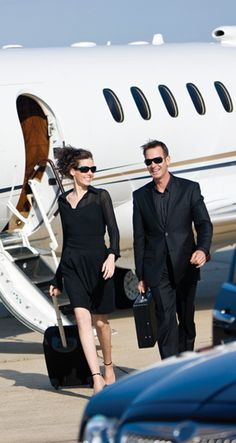 Me and Mr. Nickerson (@hobnickerson) arriving at Charles De Gaulle in our private jet.