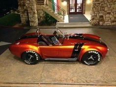 My dream car and one of the best looking Cobras I have seen!