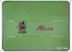 Toalha de lavabo personalizada menina #toalhaescolar