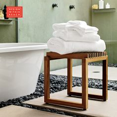 Cutter Stool | Design Within Reach - Originally intended for gardens and patios, the Cutter Stool (2008) also works beautifully in bathrooms or any room in the house.