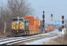 kansas city southern railroad   RailPictures.Net Photo: KCS 4584 Kansas City Southern Railway GE ...