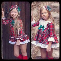 Vestidos cuadro escocés