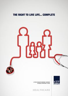 healthcare ad campaign * healthcare campaign - healthcare campaign design - he Insurance Ads, Insurance Marketing, Campaign Posters, Brand Campaign, Advertising Campaign, Health Ads, Clever Advertising, Design Typography, Medical Design
