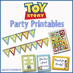 Cute Toy Story Free Printable Kit.
