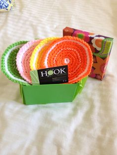 Citrus Coasters - Great Hostess Gift Hostess Gifts, Coasters, Knitting, Crochet, Projects, Crochet Hooks, Log Projects, Tricot, Breien