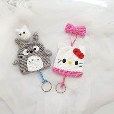 Thx for order Kitty&totoro key holder --made to order-- #amigurumi #keyholder#kittykawaii #totoro #crochet #crochetaddict #yarnprojects #yarnlovechallenge #handmade