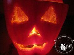 Mostro peperone per decorare la tavola di Halloween