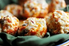 Bacon Onion Cheddar Biscuits // The Pioneer Woman