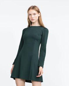 CUFFED DRESS - View all - Dresses - WOMAN | ZARA Czech Republic