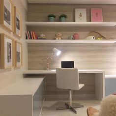 Home office quarto adolescente 44 ideas for 2019 Home Office Design, Home Office Decor, House Design, Youth Rooms, Kids Rooms, Appartement Design, Diy Zimmer, Bedroom Desk, Teen Bedroom