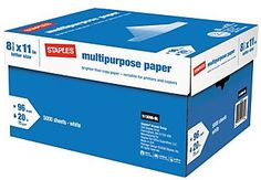 Be sure to keep boxes of copy paper accessible so teachers can restock the copy machine when needed!