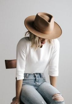 Outfits With Hats, Mode Outfits, Fall Outfits, Casual Outfits, Fashion Outfits, Womens Fashion, Fashion Jobs, Fashion Videos, Fashion Websites