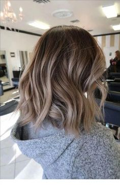 A super hot Bob will make you instantly feel no nostalgia fo.- A super hot Bob will make you instantly feel no nostalgia for your current hairstyle – Page 20 of 28 – BEAUTIFUL LIFE - Ombre Hair Color, Hair Color Balayage, Blonde Balayage, Blonde Hair, Bronde Lob, Balayage Beige, Ombre Short Hair, Long Bob Ombre, Long Bob Balayage