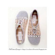 Ravelry: Pearl-Slippers - Basic Crochet Pattern pattern by Ingunn Santini