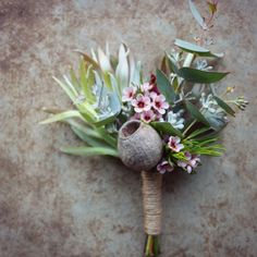 proteas and native flowers grown fresh in beautiful south-eastern Tasmania, weddings and floral design Bridesmaid Flowers, Bridal Flowers, Boho Flowers, Corsage Wedding, Wedding Bouquets, Dried Flowers, Paper Flowers, Felt Flowers, Rustic Boutonniere